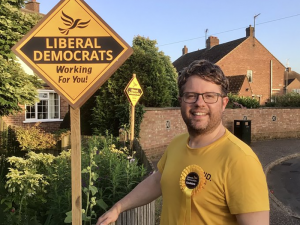 Rob Colwell Gaywood South by-election winner
