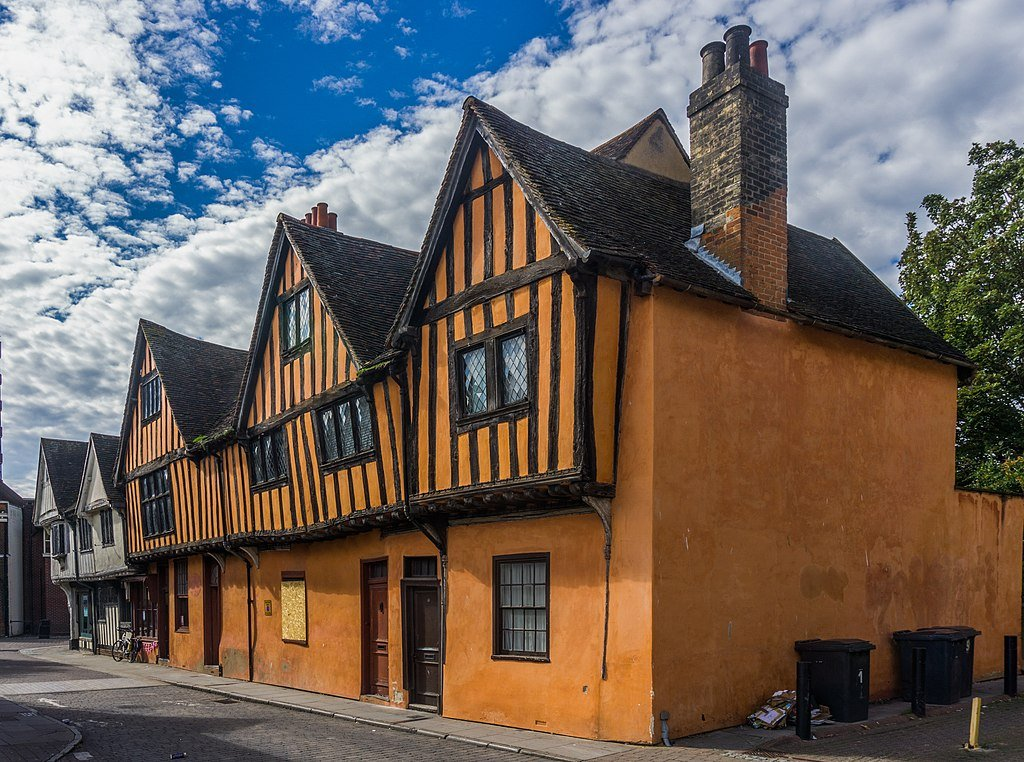 Ipswich oldest town claim: medieval buildings