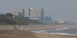 View of Sizewell B Nuclear Power Plant next to which the proposed C reactor will be built