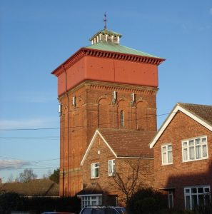 Wivenhoe, Colchester water tower - 1902