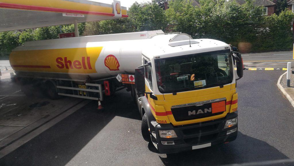 HGV tanker driver shortage