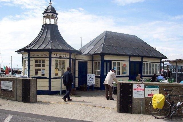 Heritage Open Days: Ha'penny Pier, Harwich.