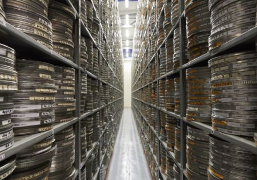 Heritage Open Days BFI National Archive tour