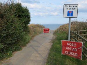 Coastal erosion: the end of the road