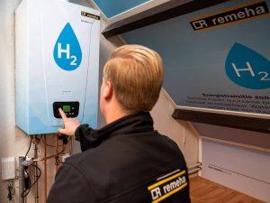Hydrogen, not heat pumps