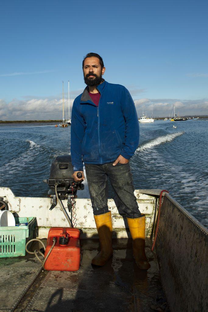 Tom Hayward Mersea oysters