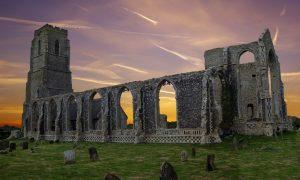 Covehithe-Abbey ruin