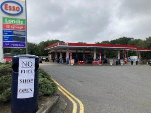 Brexit petrol shortage