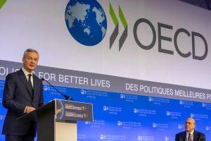 OECD global corporate tax deal